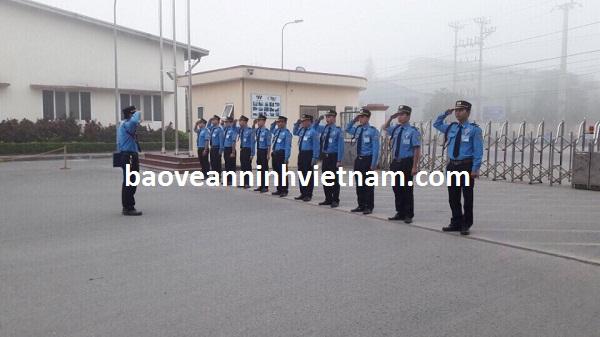 Công ty dịch vụ bảo vệ tại Bắc Giang