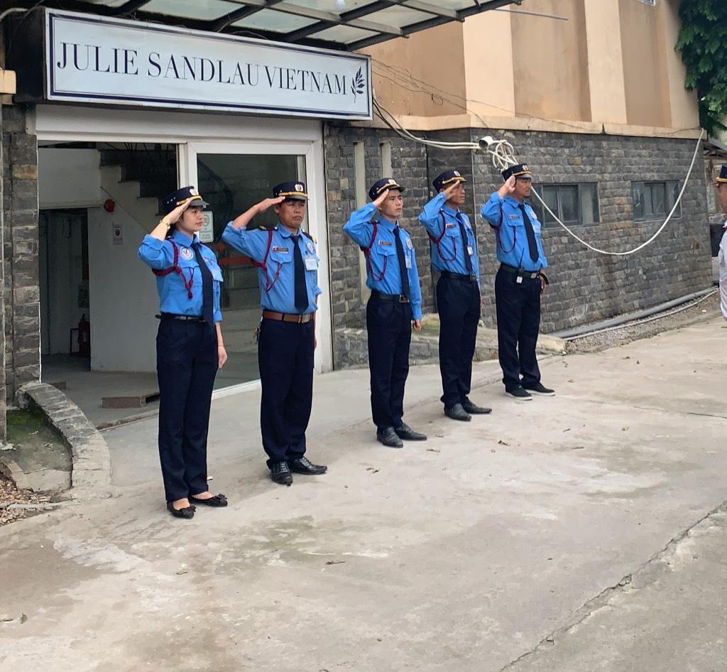 Dịch vụ Bảo vệ chuyên nghiệp : Dự án bảo vệ công ty TNHH Julie Sandlau Vietnam